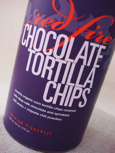 Vosges Red Fire Chocolate-Covered Tortilla Chips