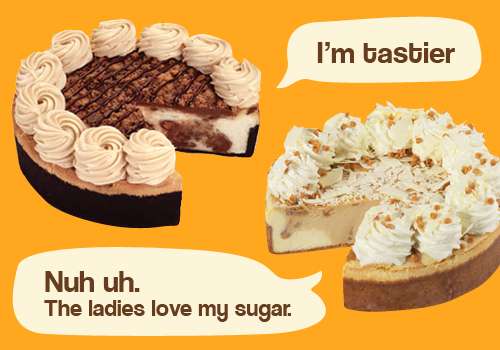 Cheesecake Factory Flavors