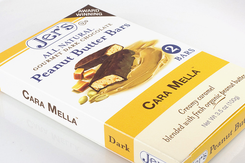 Jer's Cara Mella Peanut Butter Bar Review